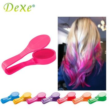 Unicorn rainbow Temporary Hair Color Chalk Powder  Disposable DIY  Hair Dye