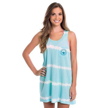 Vitamin Sea Tunic Tank in Aqua Splash by The Southern Shirt Co..