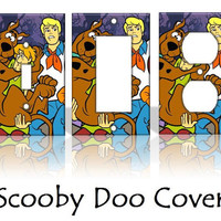 Scooby Doo Light Switch Covers Wallplates Switchplates Home Decor Outlet 14 STYLES AVAILABLE