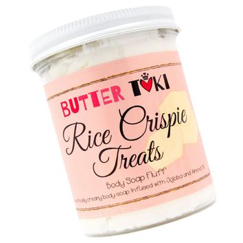 RICE CRISPIE TREATS Whipped Body Soap Fluff - Clearance