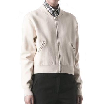 Acne Studios Olympia Clay Grey Jacket