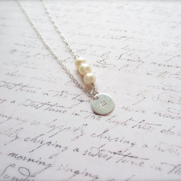 Clear Rock Crystal Necklace Swedish from DesignByThyll on Etsy