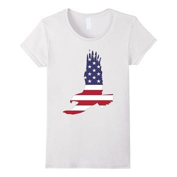 American Flag Eagle T Shirt Patriotic Shirt
