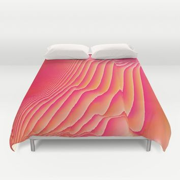 Sorbet Melt Duvet Cover by Ducky B