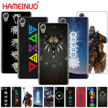 HAMEINUO The Witcher 3 Wild Hunt signs Cover phone Case for sony xperia C6 XA1 XA ULTRA X XP L1 X compact XR/XZ/XZS PREMIUM