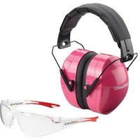 Champion Ballistic Passive Ears and Eyes Combo (Pink)
