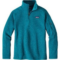 Patagonia Girls' Better Sweater Fleece Quarter Zip | DICK'S Sporting GoodsProposition 65 warning iconProposition 65 warning icon