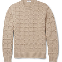 Brioni - Slim-Fit Cable-Knit Cashmere Sweater | MR PORTER