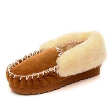 2018 Ug Style Women Australia Classic Snow Boots Winter Warm Leather Women Flats Warm Shoes Genuine ankle Boots