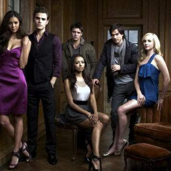 Vampire Diaries Poster Cast Portrait 27inx40in
