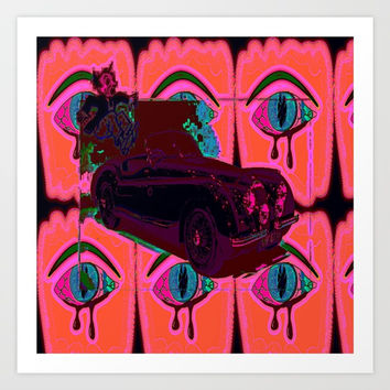 repo Art Print by Kathead Tarot/David Rivera