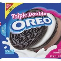 Nabisco Triple Double Oreo, 13.1-Ounce (Pack of 4)