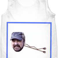 "Supernatural Bobby ""Bobby pin"" Meme Tank Top"