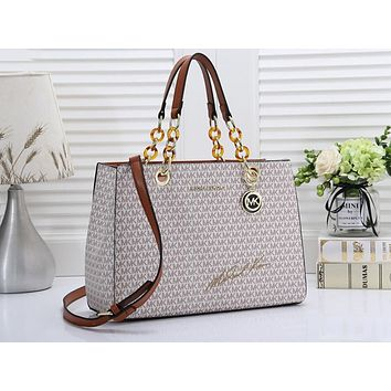 MK Hot-Selling Lady's One-Shoulder Bag with Full Print Colour