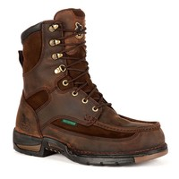 Georgia Boot Athens Men's Waterproof 8-in. Work Boots (Brown)