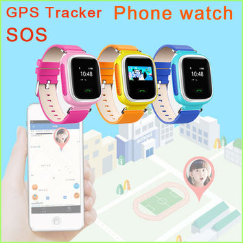 New Q60 GPS/GSM Tracker Watch For Kids Smart Watch card SOS Call Location Finder Locator Tracker for children Monitor Baby Gift