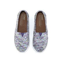 Purple Canvas Ditsy Floral Youth Classics