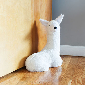 Llama Butler Doorstop | Door Stopper, Cute Animals