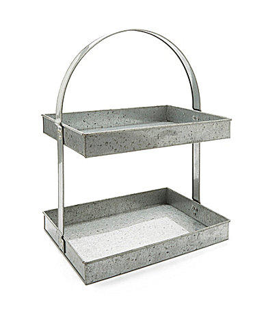 Noble Excellence Galvanized 2 Tier Stand From Dillard S The