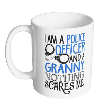 Nothing Scares A Police Officer And Granny