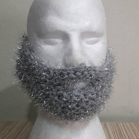 Shimmery Fake Beard Face Mask Snowboard Mask Ski Mask Men Women Babies Teen to Adult Winter Accessories   Gift Ideas Christmas Beard