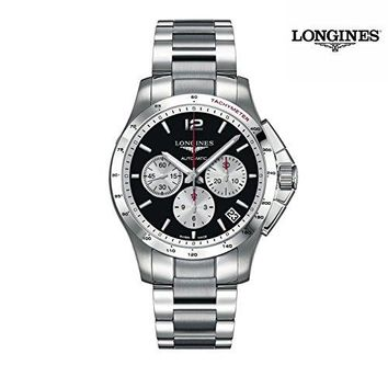 Longines Sport Collection Conquest Mens Watch L3.697.4.96.6