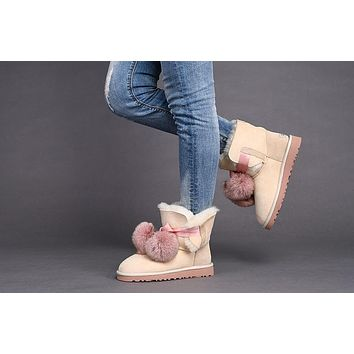 Best Deal Online UGG Limited Edition Classics Boots GITA Women Shoes DUSK1018517