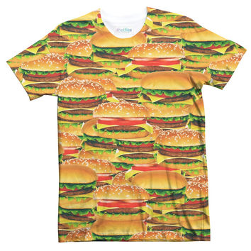 Cheese Burger Sublimated T-Shirt