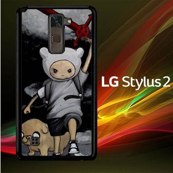 Adventure Time Heroic  L1141 LG Stylus 2 | LG Stylo 2 Case