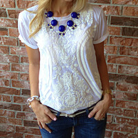J Crew Inspired Bubble Jeweled Necklace BLOWOUT - Brina Box