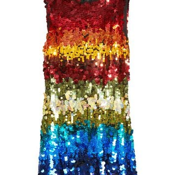 Malin Embellished Boatneck Dress | Alice + Olivia