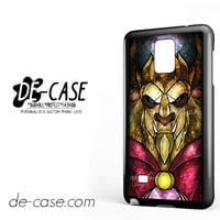 The Beast Stained Glass For Samsung Galaxy Note 4 Case Phone Case Gift Present YO