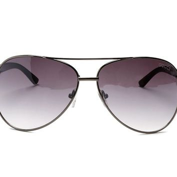 Gucci sunglass AA Classic Aviator Sunglasses, Polarized, 100% UV protection 2974244990 GGFP3336