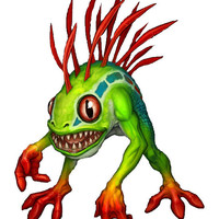 World Of Warcraft Murloc Cross Stitch Pattern | Los Angeles Needlework