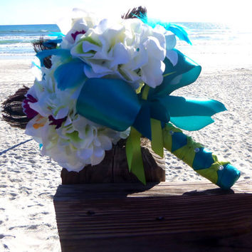 Best Turquoise Wedding Bouquet Products on Wanelo