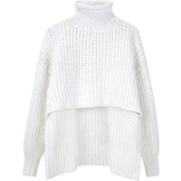 Alexander Wang Chunky Cropped Pullover.
