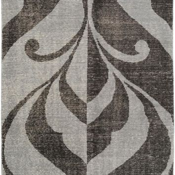Surya Paradox Medallions and Damask Black PRX-1002 Area Rug