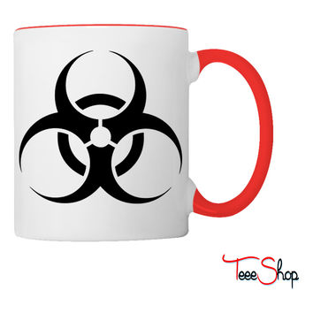 Biohazard Caution Coffee & Tea Mug