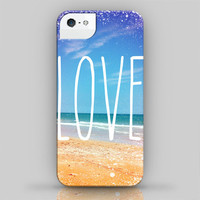 iPhone Case: Love The Beach - iPhone 4, iPhone 4S, iPhone 5