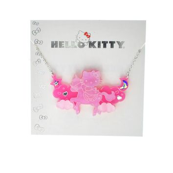 Hello Kitty Unicorn Necklace