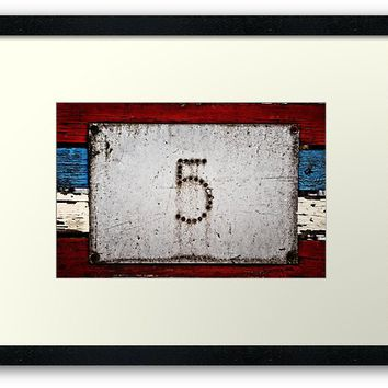 'High Five' Framed Print by Karen Stahlros