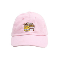 Pusheen Burger & Fries Dad Cap