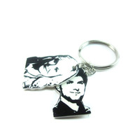 Leslie Knope and Ben Wyatt Keychain Accessories