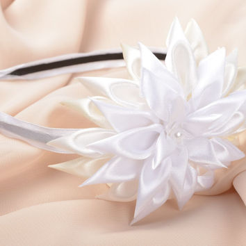 Handmade designer hairband unusual cute accessory hairband with flower