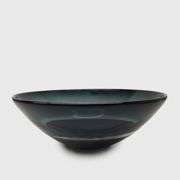 Scuro Low Bowl - Grey/Black