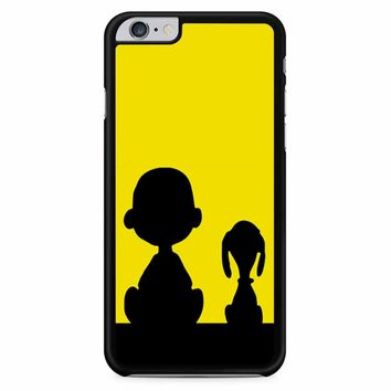 Snoopy And Charlie Brown Sunset iPhone 6 Plus / 6S Plus Case