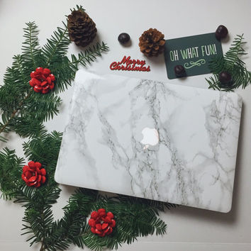 Marble MacBook Skin - Made for MacBook Air, MacBook Pro, MacBook Pro Retina. Made in the USA. FREE U.S. Shipping!