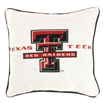 Throw Pillow - Texas Tech Red Raiders