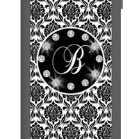 Monogram your Waterproof Case for iPhone 5 - Bling Damask