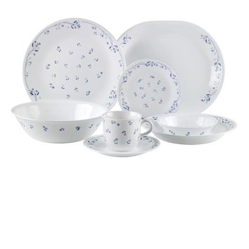Corelle Provincial Blue 76pc Dinner Set